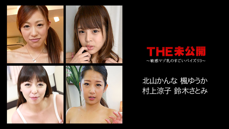 THE 未公開 ~敏感マゾ乳のすごいパイズリ3~